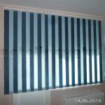 Жалюзи вертикальные мультифактурные цвет голубой темно-синий
