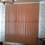 Жалюзи вертикальные серии б/о цвет коричневый